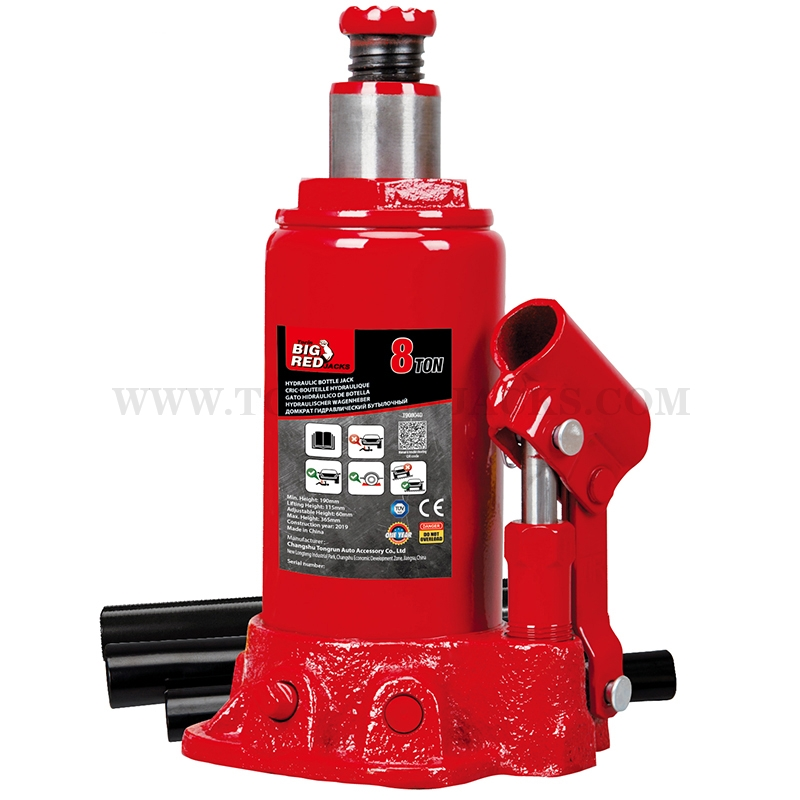 8 Ton Hydraulic Bottle Jacks T90804D
